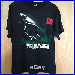 Michael Jackson 1988 Pepsi Bad Tour T-Shirt Large Rare Original condition