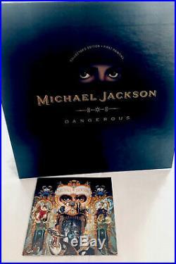 Michael Jackson 1991 1st Print Dangerous Pop Up Collectors Gold Edition CD Rare
