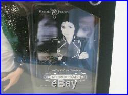 Michael Jackson 1/6 12 Billie Jean figure doll glove mic hat signature #426 RARE