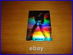 Michael Jackson 2 x Moonwalker Original Japan Phone Card / Phonecard Mega Rare