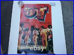 Michael Jackson 5 73 Get It Together Motown Promo Poster Nmt Rare Clean Vtg Htf