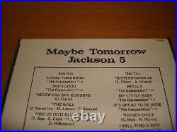 Michael Jackson 5 Five Maybe Tomorrow Reel To Reel 7 x 7 Box Sealed Mega Rare