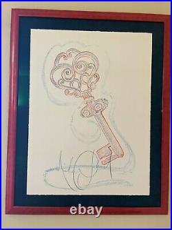 Michael Jackson 7th Key Art Print Drawing Stunning & Rare