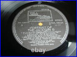 Michael Jackson A Portrait Of The Jackson 5 Five Greece LP Album Vinyl MEGA RARE