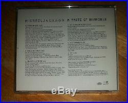 Michael Jackson A Taste Of Invincible RARE Single CD (ESK56696 DIDP-106828)