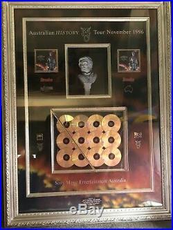 Michael Jackson Australian History Tour 1996 Rare Frame