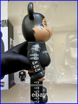 Michael Jackson BAD Bearbrick 400% 100% Medicom Be@rbrick Rare Limited Sold Out