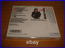 Michael Jackson Bad 1988 First Edition Japan OBI CD Single Sealed MEGA RARE