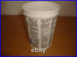 Michael Jackson Bad 1988 Pepsi Plastic Promo Cup Mexico Mexican Mega Rare