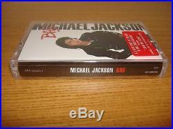 Michael Jackson Bad 2001 Remastered Edition Cassette Tape Album Mega Rare