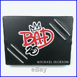 Michael Jackson Bad 25 Deluxe Collectors Edition Case Rare DVD CD Shirt Poster