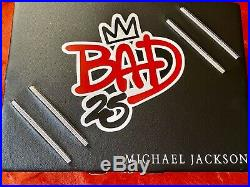 Michael Jackson Bad 25 Leather Deluxe Case Box Set MINT OOP RARE