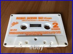 Michael Jackson Bad Mixes Argentina PROMO Cassette Single Unplayed Ultra Rare