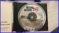 Michael Jackson Bad No Promo CD Rare Printing