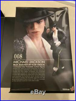 Michael Jackson Billie Jean History Tour Figure Statue Size 1/6 Hot Toys rare