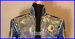 Michael Jackson Brooch signed official tour worn rare from jacket pre owned