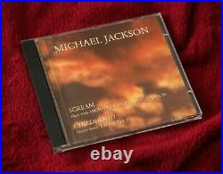 Michael Jackson CD Scream promo Brazil exclusive cover MEGA RARE History Smile