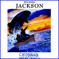 Michael Jackson Childhood Epic SAMP 2774 CD Promo 1995 MEGA RARE (PARADAH MUSIC)