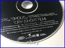 Michael Jackson Cry South Africa Cd Single Ultra RARE smile history bad scream
