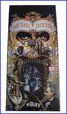 Michael Jackson Dangerous CD Longbox USA New Sealed First Printing Rare