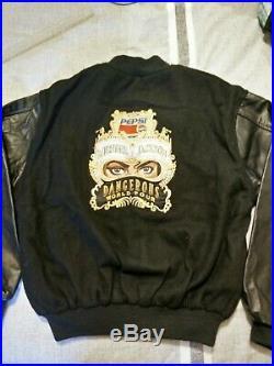 Michael Jackson Dangerous Tour Crew Leather Jacket (Very Rare)