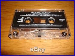 Michael Jackson Dangerous Tour Souvenir 1993 Malaysia Cassette Album MEGA RARE