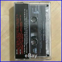 Michael Jackson Dangerous Tour Souvenir Cassette Malaysia 1993 Rare