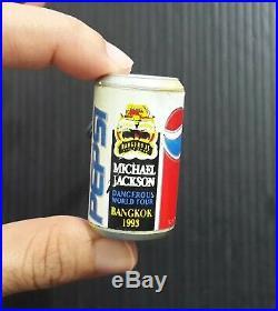 Michael Jackson Dangerous World Tour BANGKOK 1993 Vintage! SP Keychain MEGA RARE