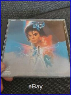 Michael Jackson DvD Captain EO. Extreme RARE
