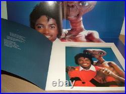 Michael Jackson E. T. Extra Terrestrial 1st Pressing Uk 1982 Box Set Rare