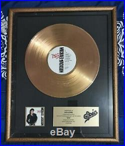 Michael Jackson Epic Records Bad and victory Authentic, Rare, worn and owned