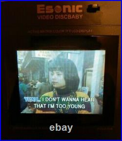 Michael Jackson Esonic Video Discbaby VCD Karaoke Player PVCD-01K Very Rare EUC