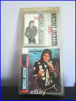 Michael Jackson Extremely Rare Bad Uk Gift Pack Sealed K7 Cassette + Highlighter