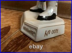 Michael Jackson Figure Statue Porcelain Doll History toys RARE(blu/purple)