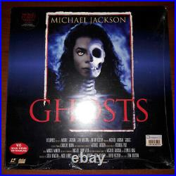 Michael Jackson GHOSTS Laser Disc Limited Edition Sealed Never Opened RARE