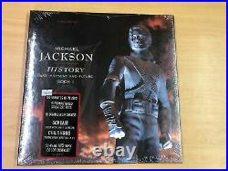 Michael Jackson HIStory 3LP Deluxe Box Limited Edition Sealed Never Opened RARE