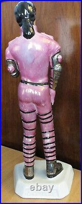 Michael Jackson HIStory Rare Purple Porcelain Statue Sculpture