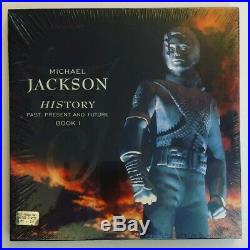 Michael Jackson HIStory SEALED 1995 US 3x LP Boxset RARE FIRST PRESS Sticker