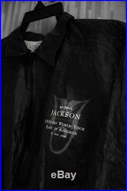 Michael Jackson HIStory Tour'Live in Bangkok' Jacket (Thailand Promo) RARE