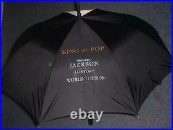 Michael Jackson HIStory World Tour OFFICIAL ORIGINAL Umbrella NEW SEALED RARE