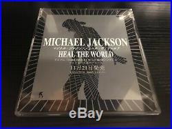 Michael Jackson Heal The World Very Rare Japan Promo Cd