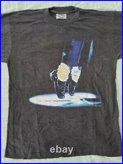 Michael Jackson History Moonwalk T Shirt M Ultra Rare Tour Official
