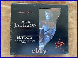 Michael Jackson History RARE Virgin Records Australian Commemorative Edition