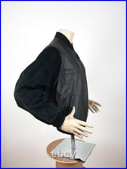 Michael Jackson History World Tour 1997 Leather Jacket Black Men's Size S Rare