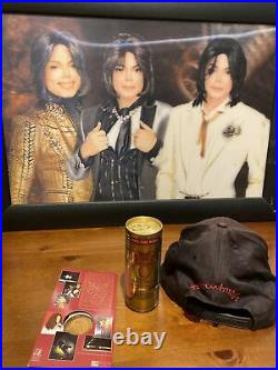 Michael Jackson History tour jacket XXL, t-shirt Xl, Can Mystery, coin, cap, Rare