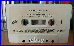 Michael Jackson Ijcsly Promo Single Cassette Todo MI Amor Eres Tu Mega Rare
