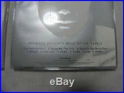 Michael Jackson Invincible Rare Korea 5 Color Booklet CD + Promo Video CD