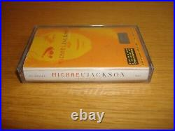 Michael Jackson Invincible Russian Russia Cassette Album Tape Sealed MEGA RARE