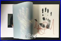 Michael Jackson Japan Tour 87 signature book. Rare. Out of print. NM