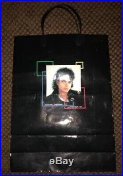 Michael Jackson Japan Tour souvenir bag. No promo. Mega rare